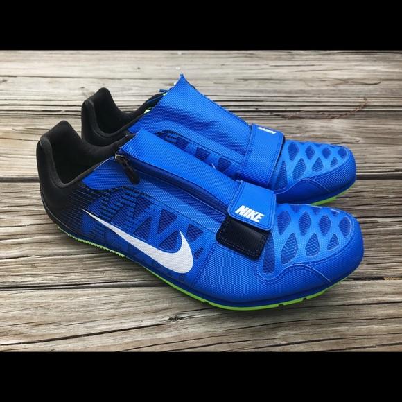 f5c20843c4e Nike Zoom LJ4 Long Jump spikes Blue sz Mens 12